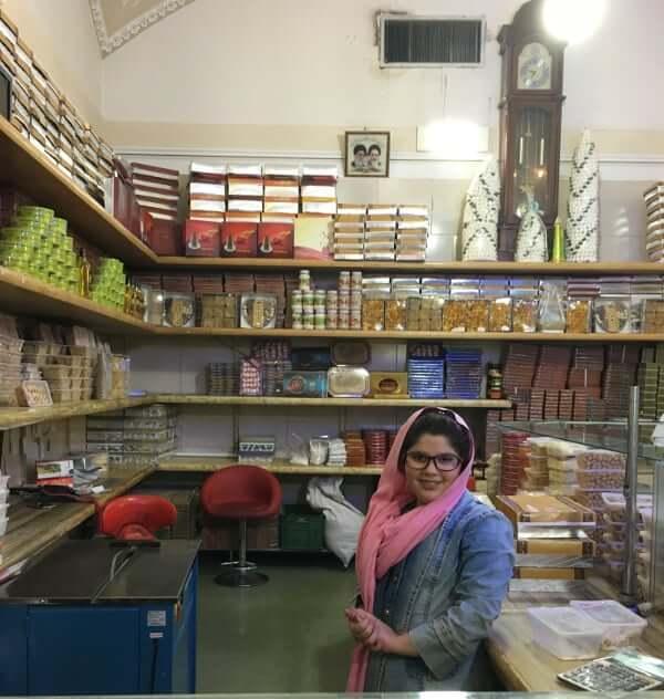 Célèbre pâtisserie de Yazd