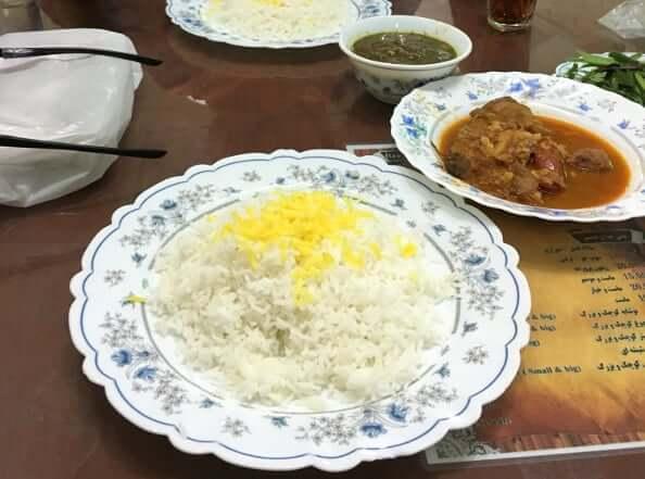 Dinner in Yazd