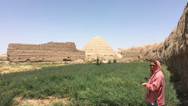 Fortification en terre autour de la ville de Kashan