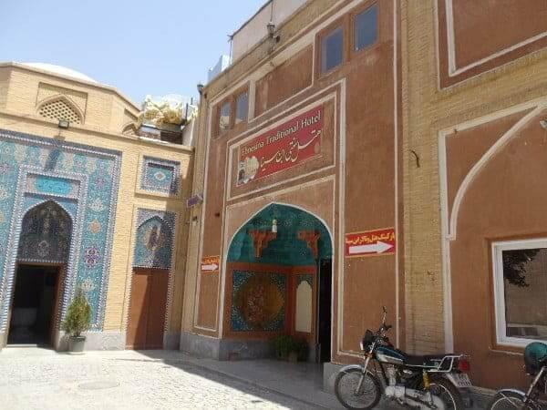 Hotel Ebne Sina in Esfahan