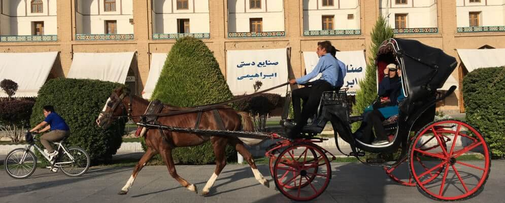 Journey in the city of Esfahan