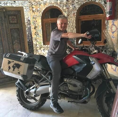 Pascal se venge sur la moto