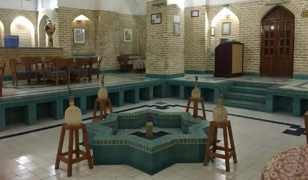 Restaurant Hamam à Yazd
