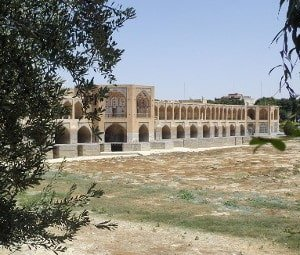 First steps in the city of Esfahan