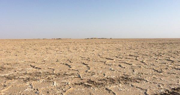 Iran salt lake