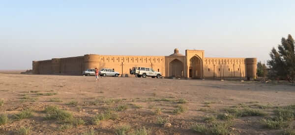 View on the caravanserail