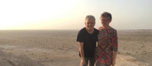 Le désert en Iran