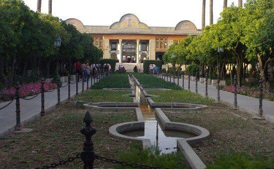 Garden of the Orangery - Shiraz