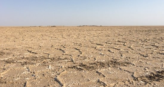 Iranian Salt Desert