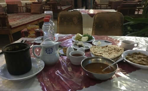 List of restaurants we frequented in Iran